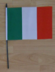 Italy Country Hand Flag - Medium.